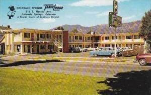 Colorado Colorado Springs Colorado Springs Trave Lodge