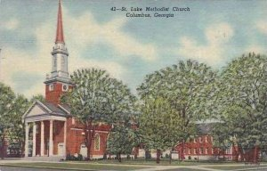 Georgia Columbus St Luke Methodist Church