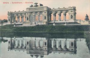 Vienna - Wien, Austria - Schonbrunn Palace Garden Gloriette - UDB