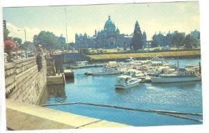 Parliament Buildings And Inner Harbour, Victoria, British Columbia, Canada, 4...