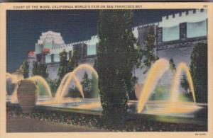 Court Of The Moon California World's Fair On San Francisco Bay