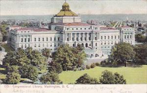 Congressional Library Washington DC 1906