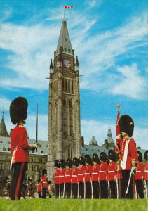 Canada Changing The Guard on Parliament Hill Ottawa Ontario