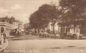 TUCK #2091; TUNBRIDGE WELLS, Kent, England, United Kingdom; High Street, 00-10s