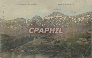 Postcard Old Picturesque Cantal Cirque de Mandailles
