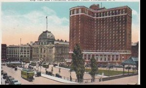Rhode Island Providence City Hall & Biltmore Hotel