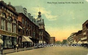 Main St. Concord NH 1910