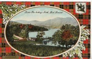 Scotland Postcard - Tarbet Pier - Looking North - Loch Lomond - Ref 12763A