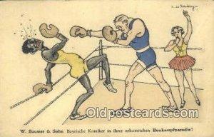 Boxing Comic Unused light wear, Unused
