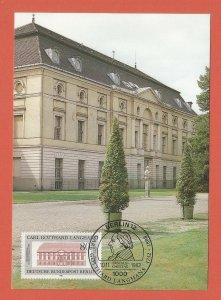 MAXI CARD – GERMANY, BERLIN – 1982 – CHARLOTTENBURG THEATRE