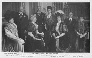 Royalty, The Three Kings and Five Queens, Edward VII, Alexandra, Wilhelm II