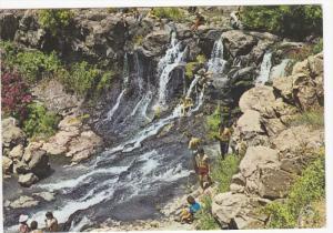 ISRAEL, PU-1986; The Daliyot Brook, Waterfalls
