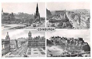 Scott Monument, Princes Street and Art Galleries Edinburgh Scotland, UK Unused