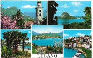 Lugano, Switzerland. Beautiful Views, Great stamp - 1974.
