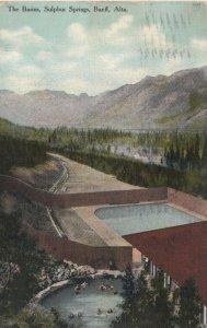 BANFF, Alberta, Canada, 1909; The Basins, Sulphur Springs