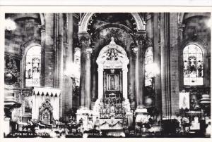 RP; MEXICO: Altar de la Virgen de Guadalupe, 1941