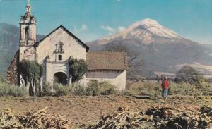 El Popocatepetl , Mexico , 50-60s