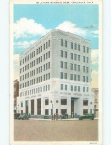 W-Border BANK BUILDING Chickasha - Near Oklahoma City Oklahoma OK E5014