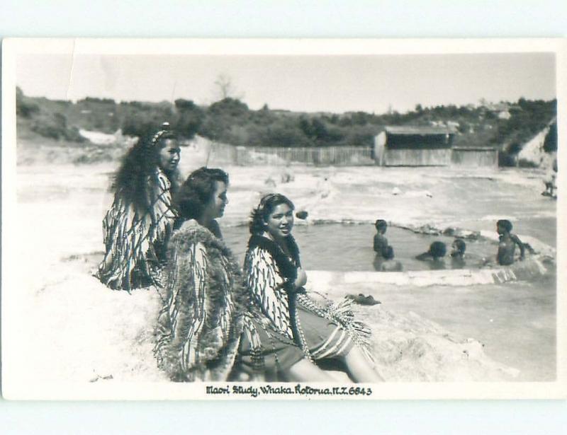 old rppc NICE VIEW Whakarewarewa - Whaka - Rotorua New Zealand i1834