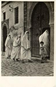 CPA Maroc - Orientalische Volkstypen - Mohammedanerinnen (92927)