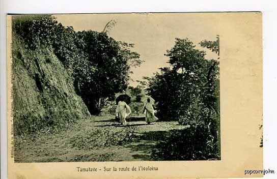 Africa Madagascar Tamalave Natives  Postcard