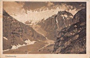 SWITZERLAND~GOSCHENERALP 1921 PHOTO POSTCARD