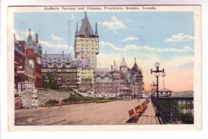 Dufferin Terrace, Chateau Frontenac, Quebec, Nice 1927 Holiday in Canada Slog...