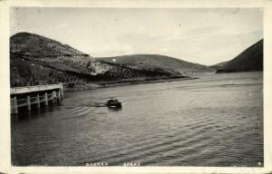 turkey, ANKARA, Baraj, Panorma (1940s) RPPC Postcard