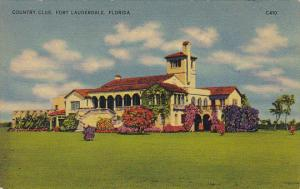 Country Club Fort Lauderdale Florida 1940