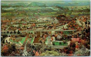 Shartlesville PA Postcard ROADSIDE AMERICA Miniature Village General View