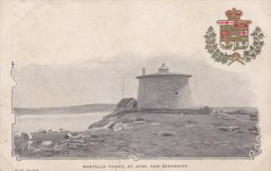 ST. JOHN, New Brunswick, Canada, 1900-1910's; Martello Tower