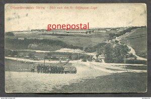 dc1392 - WW1 OHRDRUF c1915-18  Kriegs-Gefangenen-Lager. Barracks & POW Camp