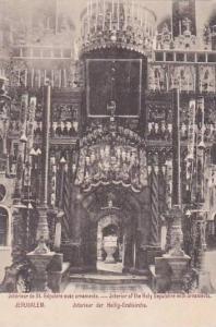 Jerusalem , Israel , 00-10s ; Interior der Heilig-Grabkirche