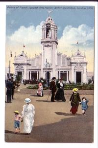 Palace of Applied Arts, Franco-British Exhibition, London, England 1908, Tuck...