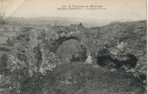 PIERRE-PERTHUS , France , 1900-10s ; La Roche Perce
