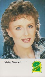 Vivien Stewart Radio 2 Cast Card