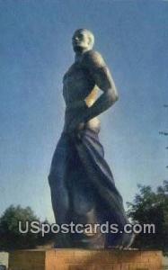 Spartan Statue, Sparty, Michigan State University East Lansing MI Unused