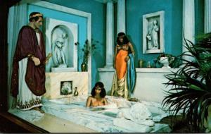 Florida St Petersburg Tussaud's London Wax Museum Caesar Visits Cleopatra