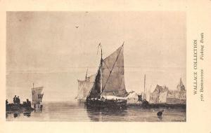 Wallace Collection, Bonington, Fishing Boats
