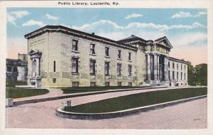 Public Library, Louisville, Kentucky, 1900-1910s