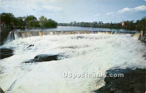 Hudson River Glens Falls NY Unused