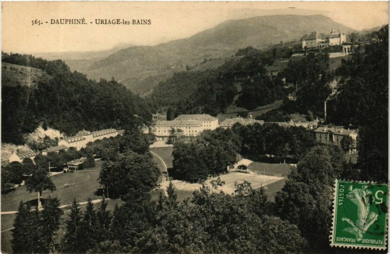 CPA Dauphine - URIAGE-les-BAINS (652621)