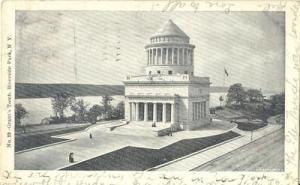 Grant's Tomb, Riverside Park, N.Y. 1906 used Postcard