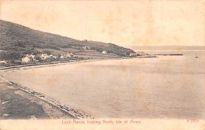 Scotland, UK Old Vintage Antique Post Card Loch Ranza Looking North Isle of A...