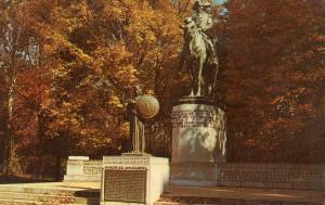 NC - Greensboro. National Military Park, Gen. Nathanael Greene Statue