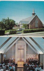 FAIRBANKS, Alaska, PU-1960; First Methodist Church, Interior View