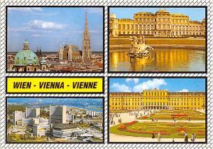 Wien, Vienna Austria Panorama Schloss Belvedere Wien, Vienna Panorama Schloss...