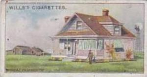 Wills Vintage Cigarette Card 1914 Overseas Dominions Canada No 42 A Typical F...