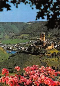 Weinstadt Cochem an der Mosel Burg Castle General view Chateau