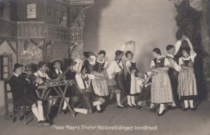 RP: INNSBRUCK , Austria , 00-10s Franz Mayr's Tiroler Nationalsanger